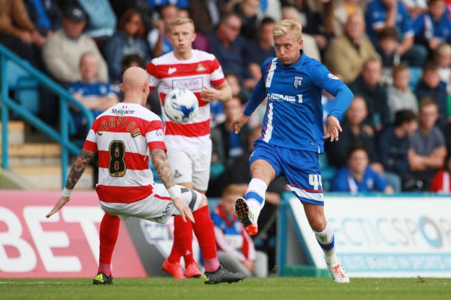 Josh Wright in action for Gillingham. Picture: Action Images