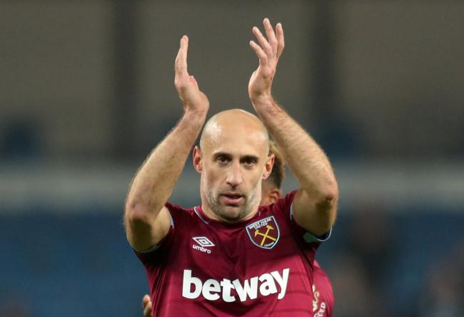 Pablo Zabaleta has yet to decide if he will hang up his boots at the end of the season. Picture: Action Images