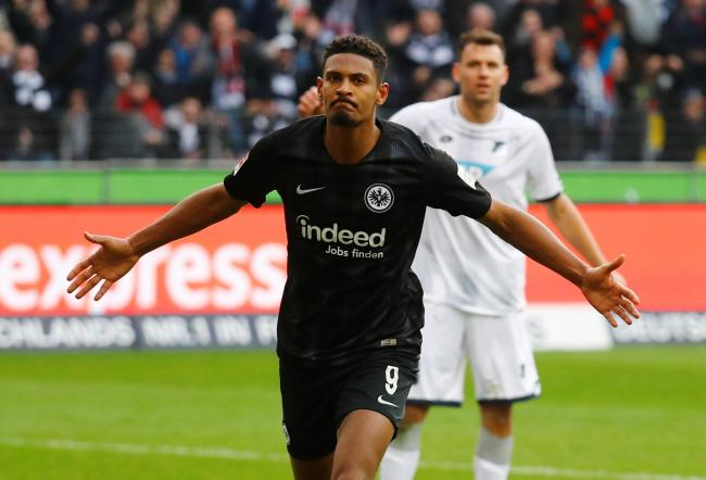 Sebastian Haller is set to complete his move to West Ham. Picture: Action Images