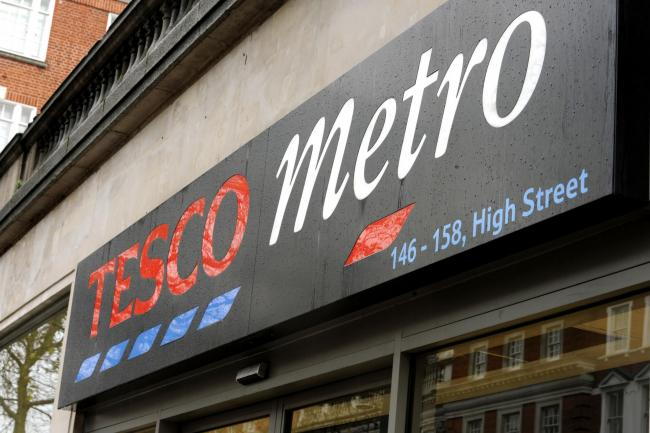 There will be thousands of job losses at Tesco's Metro stores: Photo: Louisa Collins-Marsh/PA Wire