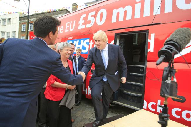 Boris Johnson has faced a number of controversies involving buses in the past (Photo: Anita Ross Marshall).