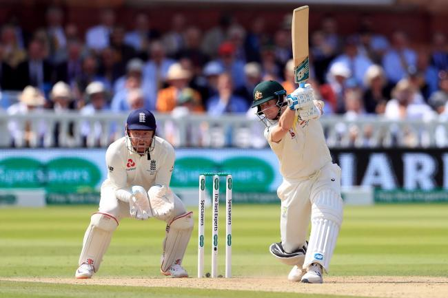 Steve Smith batting at Lord's
