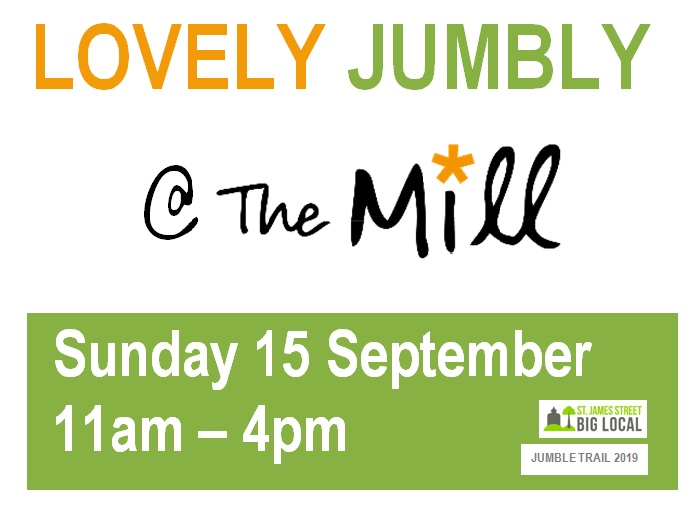 St James Big Local Jumble Trail @The Mill