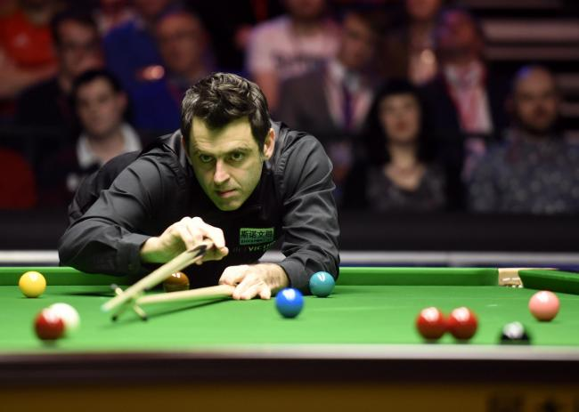 Ronnie O'Sullivan was in dominant form. Picture: Action Images