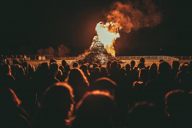 Celebrate bonfire night with fireworks events