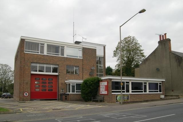 Ongar Fire station is based on the High Street, just two minutes away from the house fire on Turret Court on Saturday, September 14