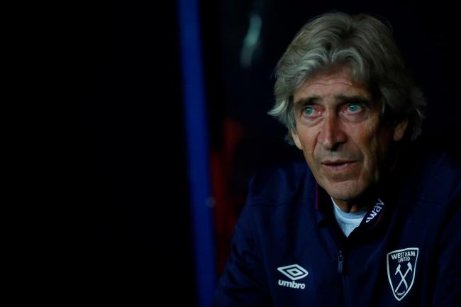 Manuel Pellegrini: 'The responsibility is first on me'. Picture: Action Images