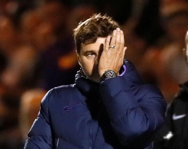 Mauricio Pochettino admits it is 'hard' trying to take Spurs to the next level. Picture: Action Images