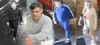 Do you recognise these four people wanted in connection with the murder of Grineo Daka, 27, at Phoenix Snooker Club in Leyton on Sunday, Jully 7