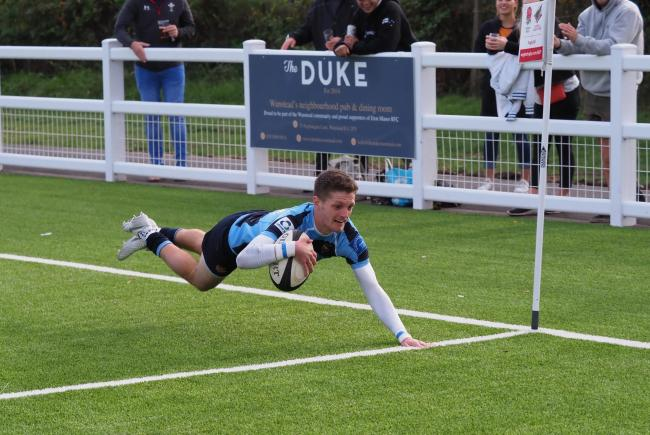 Eton Manor maintained their unbeaten start to the London 1 North season against Southend Saxons. Picture: Martin Pearl