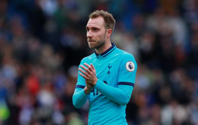 Christian Eriksen admits he is experiencing his 'hardest time' at Spurs. Picture: Action Images