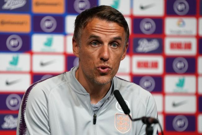 Phil Neville insists England Women are heading in the right direction