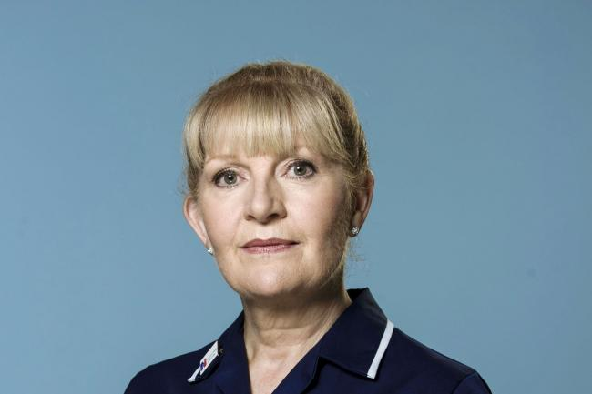 Cathy Shipton to leave Casualty role as nurse Duffy