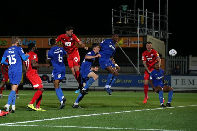 Leyton Orient were comfortably beaten in the Leasing.com Trophy by AFC Wimbledon. Picture: Simon O'Connor