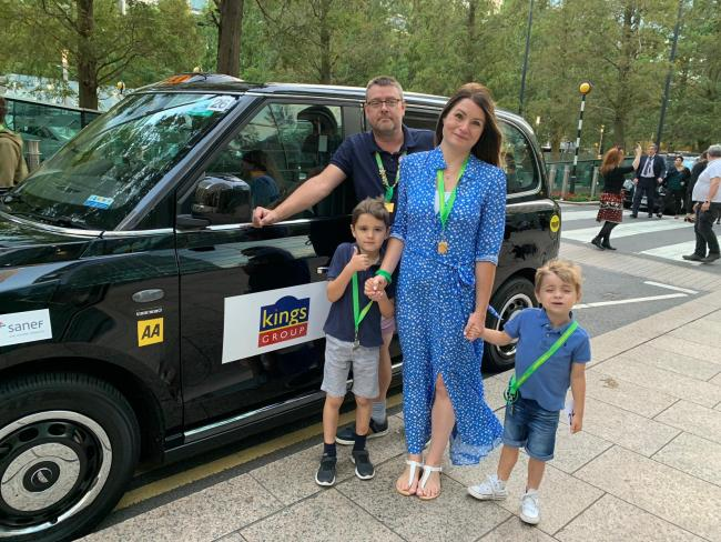 Kings Group estate agents sponsored a taxi which took a poorly child on a magical trip to Disneyland Paris