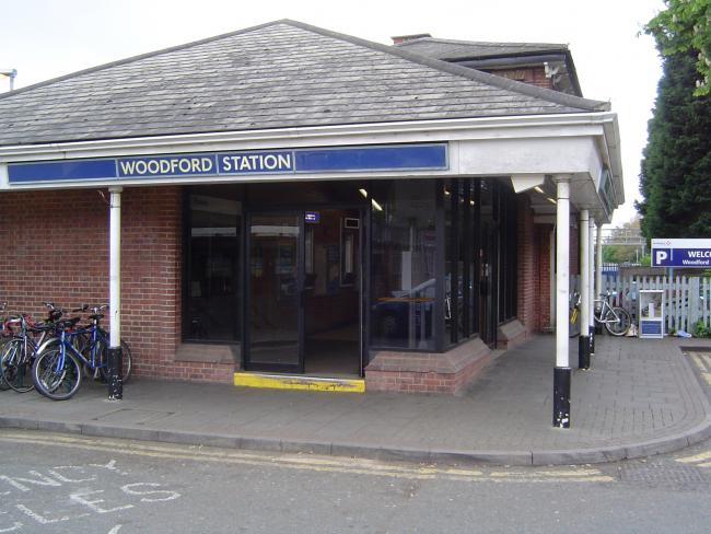 The victim of the stabbing at Woodford station is in a stable condition in hospital