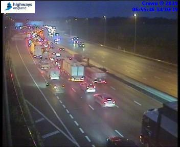 M25 Anti-Clockwise at J17 (4)