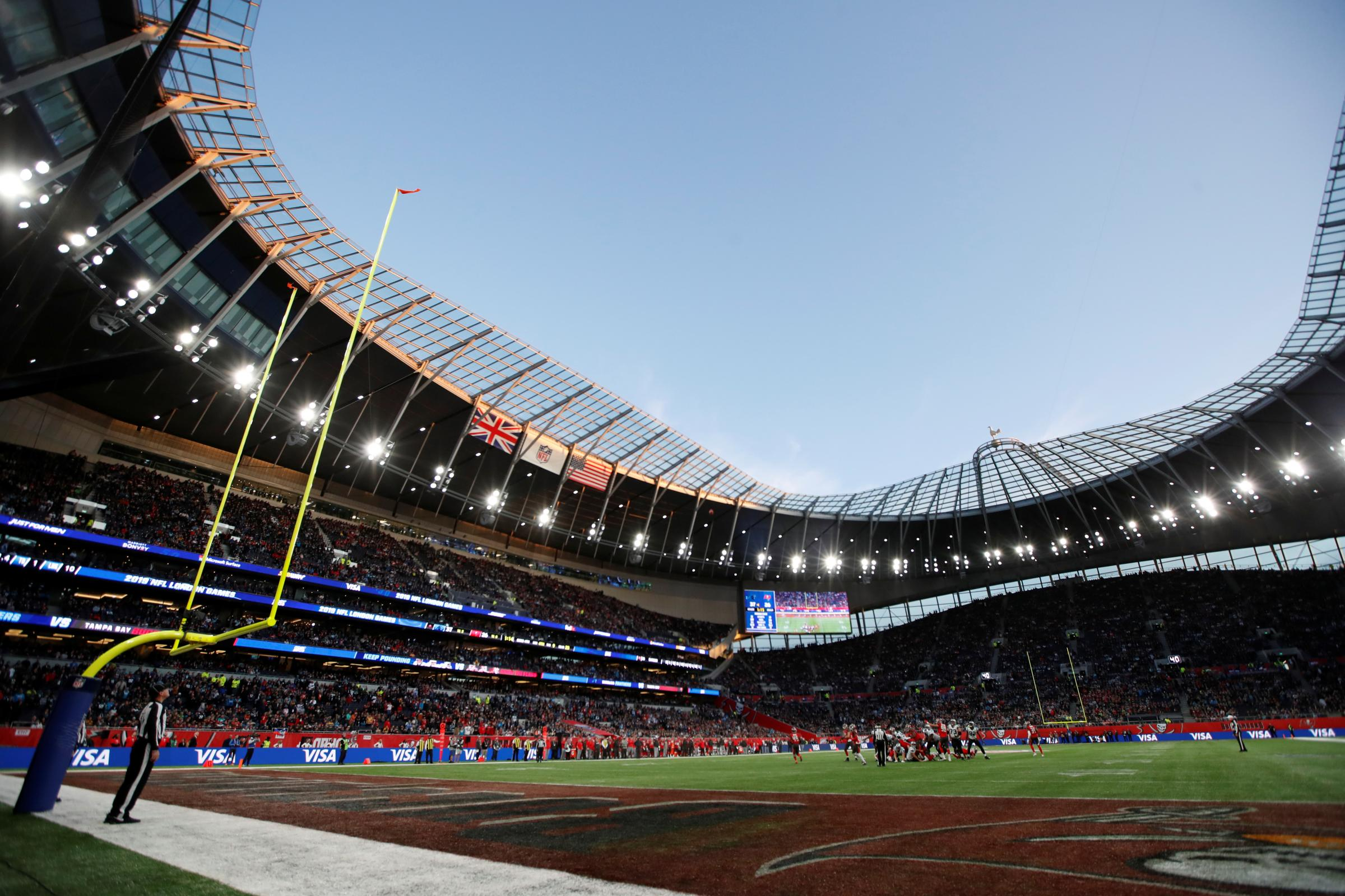 Incredible Tottenham Hotspur Stadium Praised After Nfl Matches East London And West Essex Guardian Series