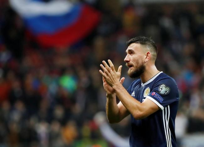 West Ham midfielder Robert Snodgrass has announced his retirement from international football with Scotland. Picture: Action Images