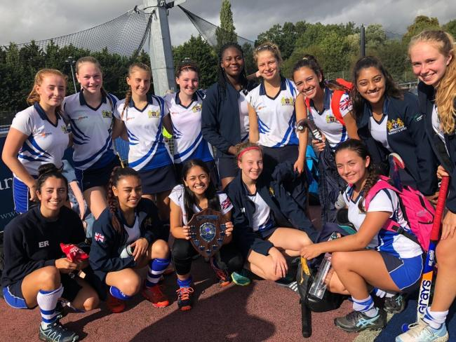 Bancroft's School's under-18s Girls' hockey team are through to the regional finals.