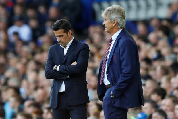 Manuel Pellegrini can add to Marco Silva's problems this weekend. Picture: Action Images