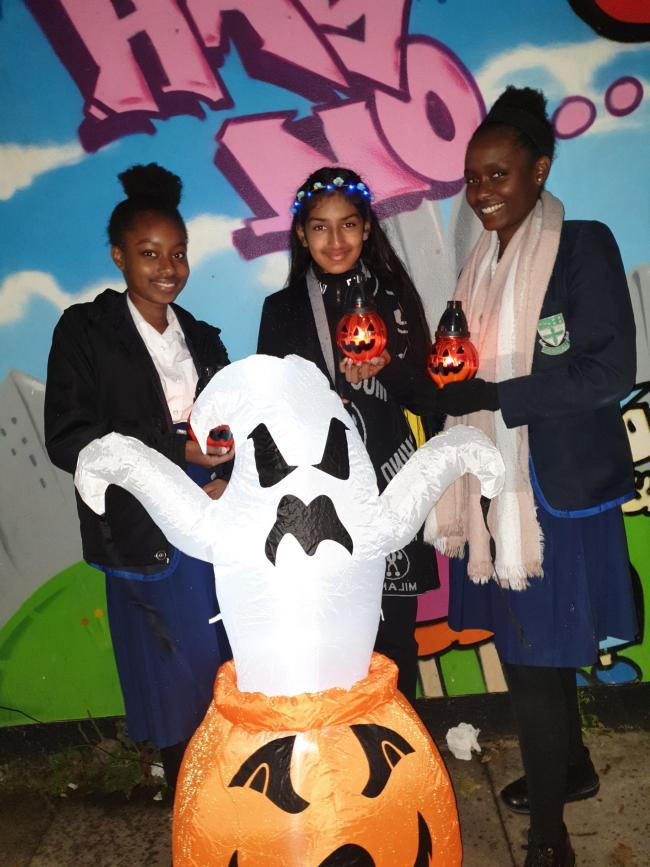 Teens aged 11-16 are invited to the Halloween party in Ilford