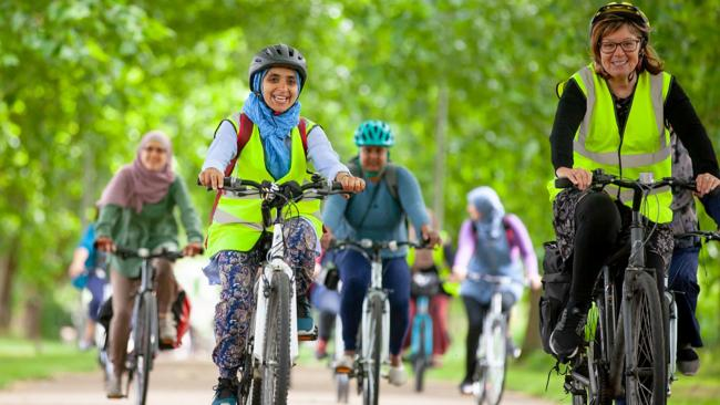 Waltham Forest Hornbeam Joy Riders cycling group