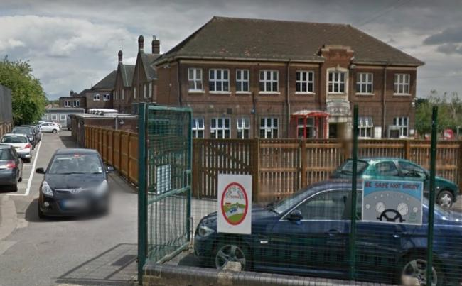 Fairlop Primary School. One of the three schools around which roads will be closed by council to improve children's 'health and safety'. Photo: Google Maps