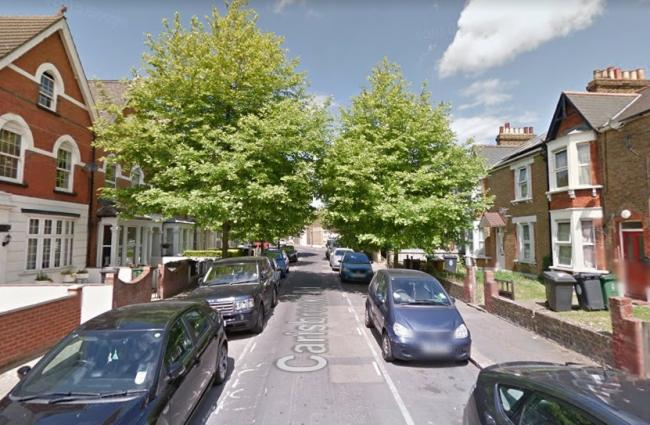 A boy was stabbed last night in Carisbrooke Road, Walthamstow, police said. Photo: Google Maps