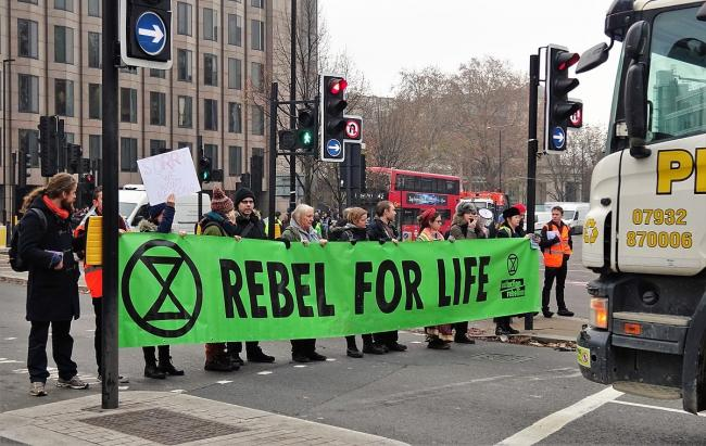 Extinction Rebellion protestors in the capital last year (Photo: David Holt)