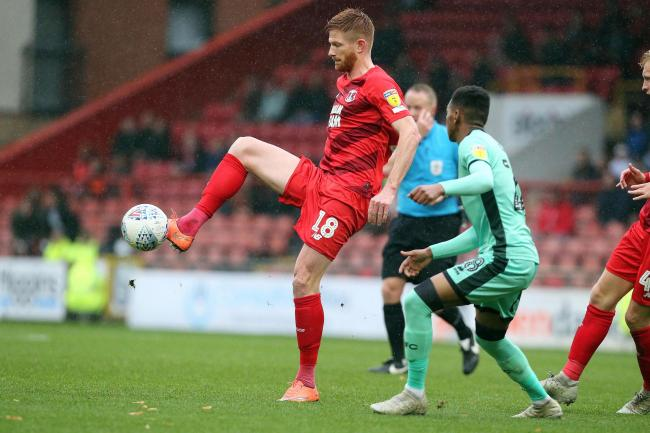 Matt Harrold scored Leyton Orient's first in their 4-2 defeat to Forest Green Rovers. Picture: Simon O'Connor