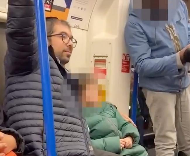 A Jewish family was subjected to anti-semitic abuse on the Northern line (Photo: Chris Atkins / The Sun).
