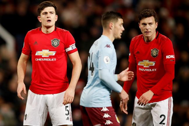 Harry Maguire, left, knows United need to improve