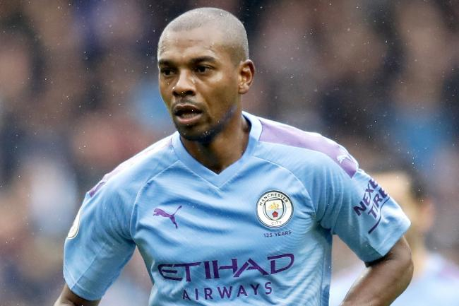 Fernandinho has been moved into defence this season