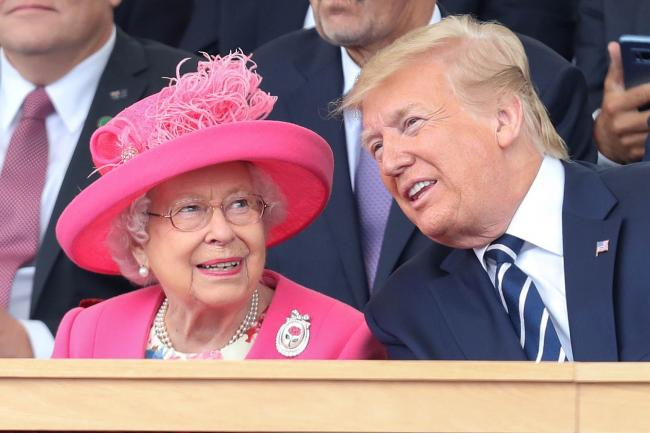 The Queen and Donald Trump