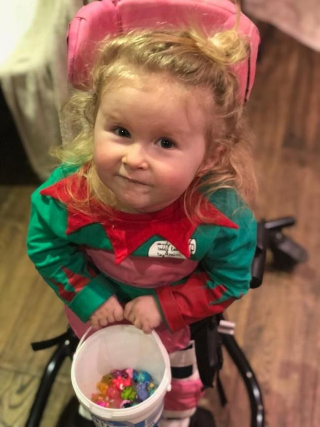 Annabelle Thomas was diagnosed with Spinal Muscular Atrophy Type 1 the day before Christmas Eve 2016.