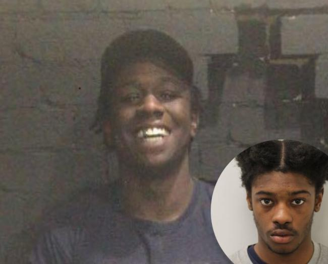 Victim: Kamali Gabbidon-Lynck, 19 and inset Tyrell Graham, who was convicted of his murder.
