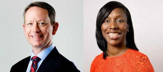 Gareth Bacon (Con) and Florence Eshalomi (Lab) were elected MPs on Thursday (Photos: London Assembly)