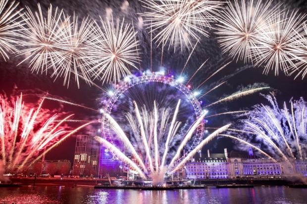 East London and West Essex Guardian Series: London welcomed the new decade with its annual fire.works display (Photo: City Hall)