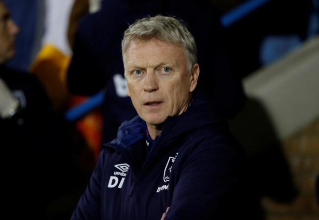 David Moyes admitted he knew it would be a tough game for West Ham. Picture: Action Images