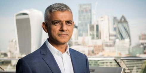 "East London and West Essex Guardian Series: Sadiq Khan claimed last week that the mayoral election would be a ""two horse race"" with Conservative Shaun Bailey (Photo: GLA)."