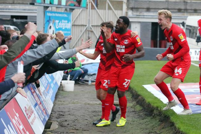 Leyton Orient's biggest win of the season so far came against Grimsby Town. Picture: Simon O'Connor