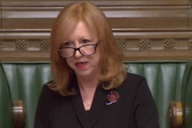 Eleanor Laing speaking in the House of Commons. Photo: BBC