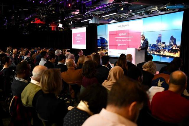 Sadiq Khan launched the fund at Google HQ (Photo: GLA).