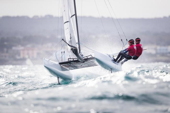 John Gimson and Anna Burnet are sailing towards Tokyo