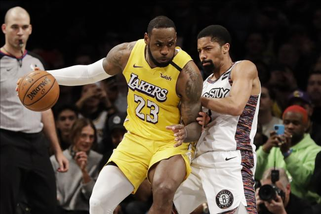 Lakers Nets Basketball