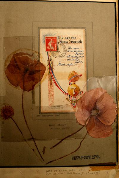 WOODFORD GREEN: Poppy from no man's land found in soldier's diary