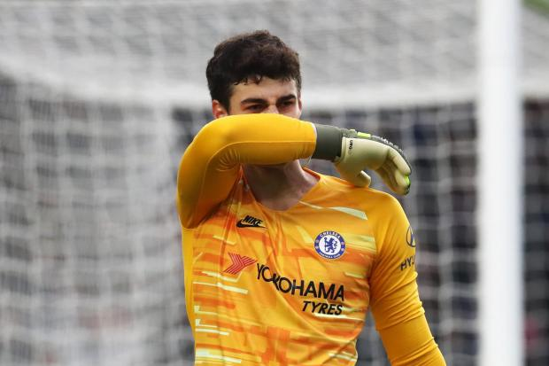 Chelsea goalkeeper Kepa Arrizabalaga has been told to improve