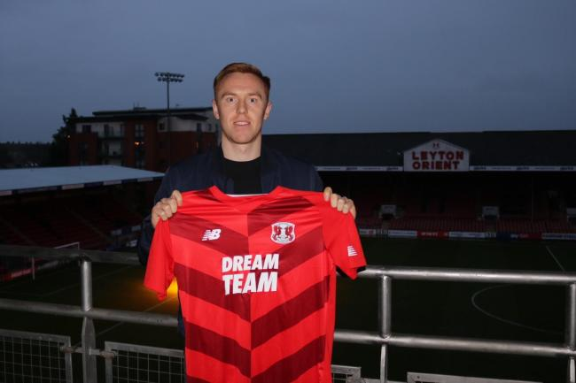 Leyton Orient have signed striker Danny Johnson from Dundee. Picture: Leyton Orient FC