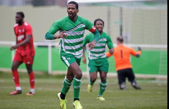 Waltham Abbey thrashed Northwood to move into the play-off spots. Picture: Mandy Davies